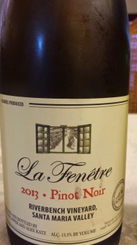 2013 La Fenetre Pinot Noir