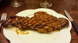 Lovely steak for dinner