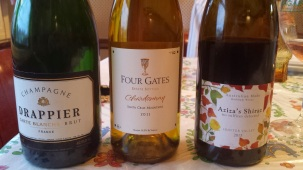 some more wines enjoyed with family