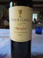 2008 Four Gates Merlot, M.S.C.