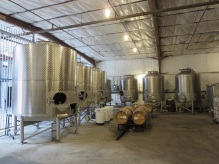 Covenant Winery tanks in Berkeley