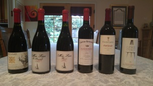 Mia luce wines, along with 2009 Recanati Carignan and 2005 Chateau royaumont and 2012 Four gates Petit Verdot