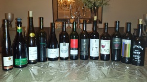 second wine lineup