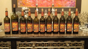 2003 to 2013 Covenant Cabernet Sauvignon Bottles for Vertical