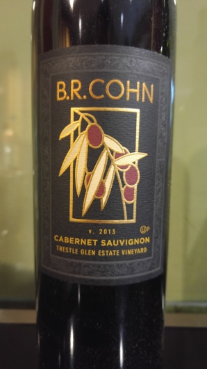 2013 B.R. Cohn Cabernet Sauvignon, Trestle Glen