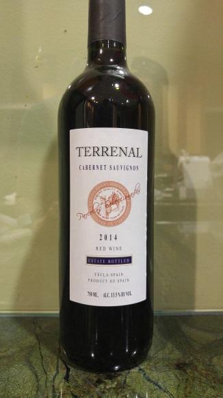 2014 Terrenal Cabernet Sauvignon
