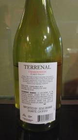 2014 Terrenal Chardonnay - bl