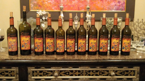 A vertical of Covenant Cabernet Sauvignon from 2003 to 2013