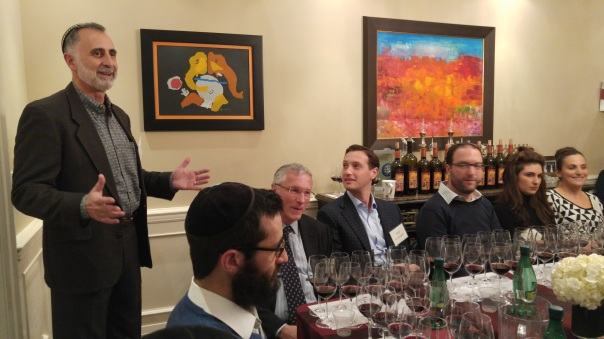 Jeff Morgan at the vertical tasting