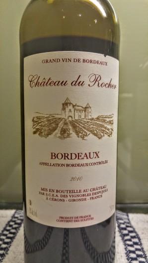 2010 Chateau du Rocher