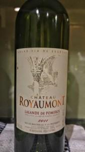 2011 Chateau Royaumont