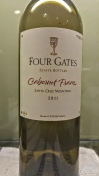 2011 Four gates Cabernet Franc