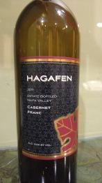 2011 Hagafen Cabernet Franc