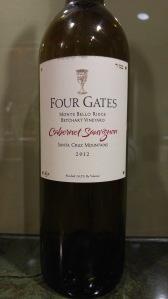 2012 Four Gates Cabernet Sauvignon