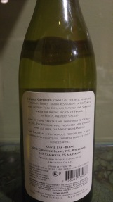 2014 Jacques Capsouto Vignobles Cotes de Galilee Village Cuvee Eva Blanc - bl
