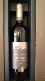 2012 Tabor Limited Edition, Cabernet Sauvignon, 1:11,000