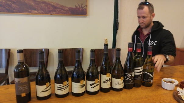 Or Nidbach and the Tabor wines we tasted