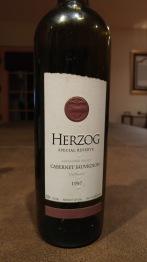 1997 Herzog Caberney Sauvignon, Alexander Valley