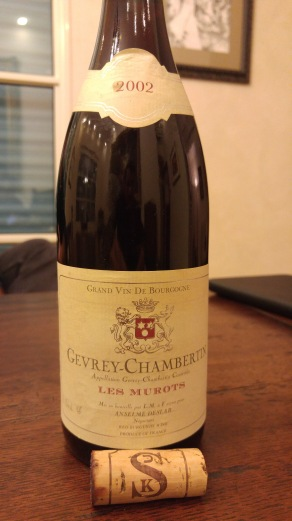 2002 Gevrey Chambertin, Les Murots