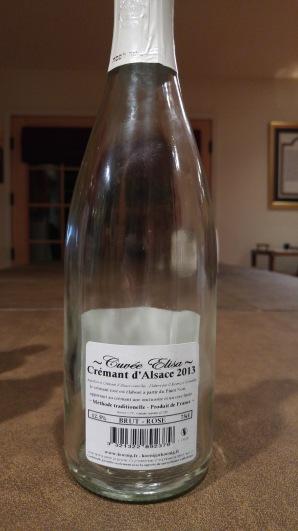 2013 Koenig Cremant d'Alsace Rose Brut Cuvee, Elisa - bl