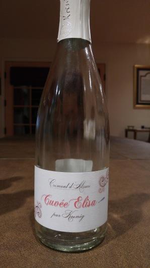 2013 Koenig Cremant d'Alsace Rose Brut Cuvee, Elisa