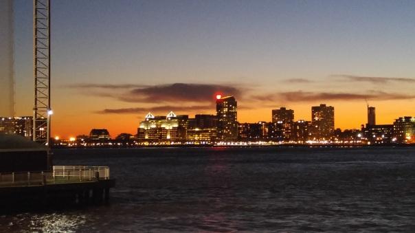 KFWE NYC Skyline from Pier 60
