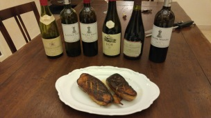 Netoa wines and perfect pan seared duck