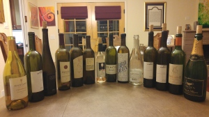 Wines Enjoyed over the weekend