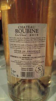 2015 Roubine Rose, Cru Class - bl