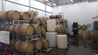 Kishor Barrel room