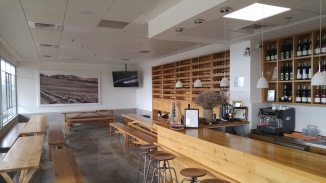 Kishor Winery Tasting Room and seating