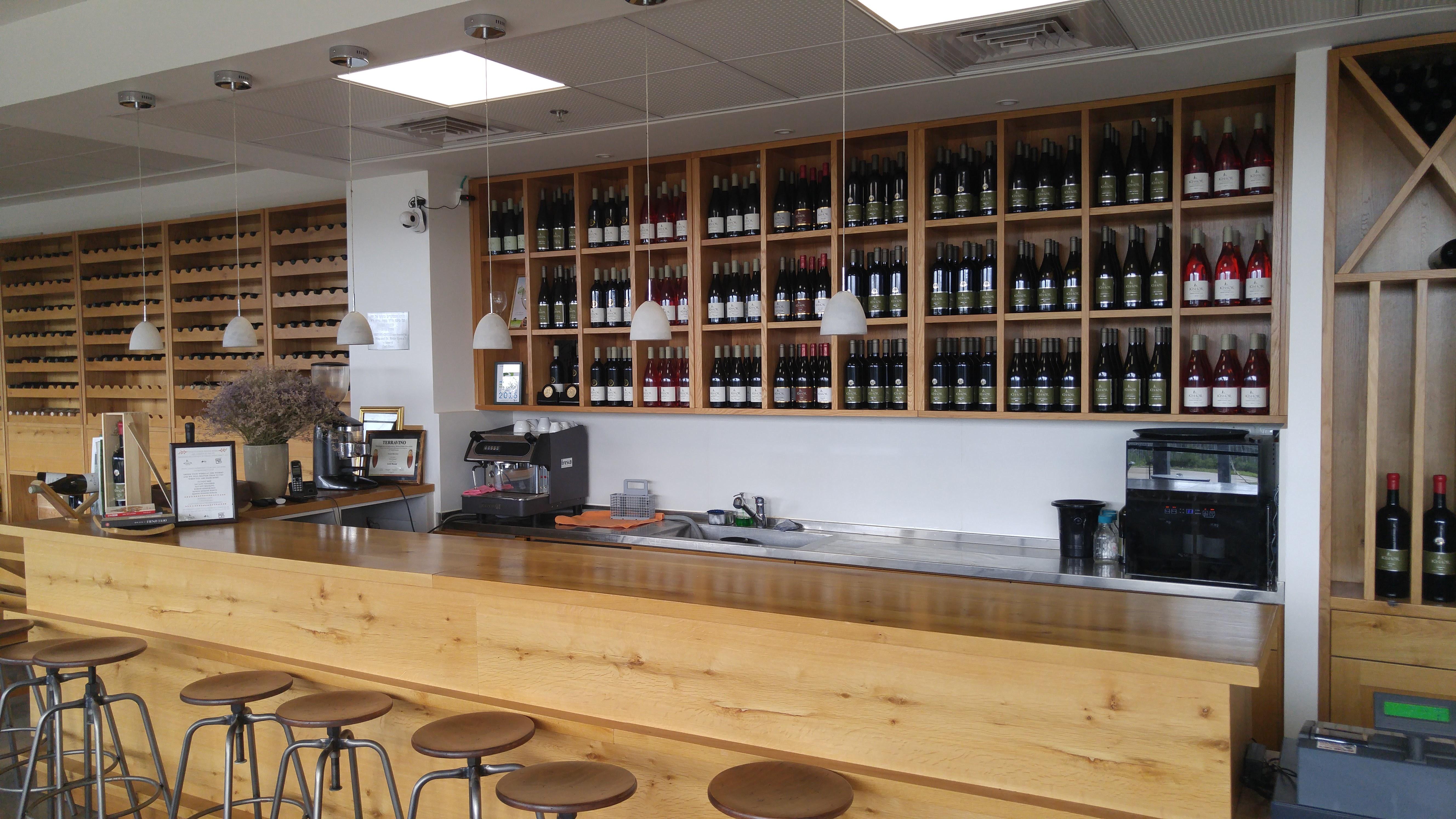 Kishor Winery Tasting Room