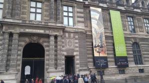 Louvre outside