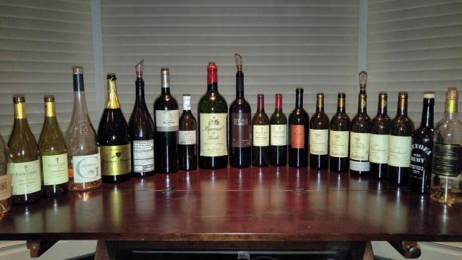 2002-2007-four-gates-chardonnay-2013-garrus-rose-bonnet-ponson-champagne-2007-hajdu-syrah-2007-yatir-forest-2001-barrail-de-zede-2005-elvi-el26-2009-cabernet-sauvignon-franc-2007-barkan-merlot