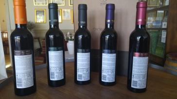 2015 Vitkin Israeli Journey, Red, 2015 Vitkin Pinot Noir, 2015 Vitkin Cabernet Franc, 2015 Vitkin Petite Sirah, 2015 Vitkin Carignan - bl