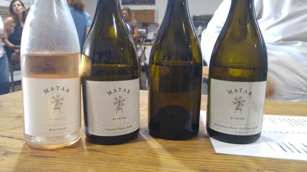 2016 Matar Rose, 2016 Matar Chenin Blanc, 2016 Matar Chardonnay, 2016 Matar Sauvignon Blanc - Semillon