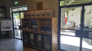 Tabor Winery wine dispensing machine
