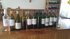 2016 Domaine du Castel Rose, 2016 LaVie Blanc du Castel, 2016 Blanc du Castel C, 2015 & 2016 lave Rouge du Castel, 2012 & 2015 & 2016 Petit Castel, 2015 & 2016 Grand Vin du Castel, 2016