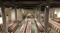 Domaine du Castel Winery barrel room