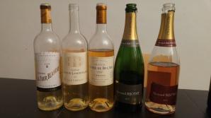 2014 Chateau La Tour Blanche, 1998 Chateau L'oree de Bel Air, Cerons, 2009 Chateau Bastor Lamontagne, Champagne Bernard Bijotat, Brut, Champagne Bernard Bijotat, Rose Brut