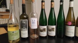 2016 La Mourre de Lisle, White, 2016 LI BI Rose, Cotes du Rhone, 2016 Carmel Riesling