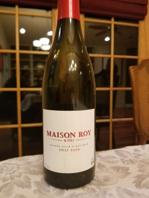 2016 Maison Roy & Fils Shai Pinot Noir, Willamette Valley