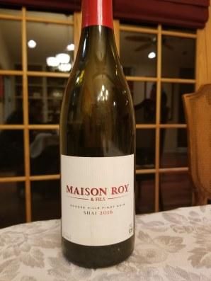 2016 Maison Roy & Fils Shai Pinot Noir, Willamette Valley