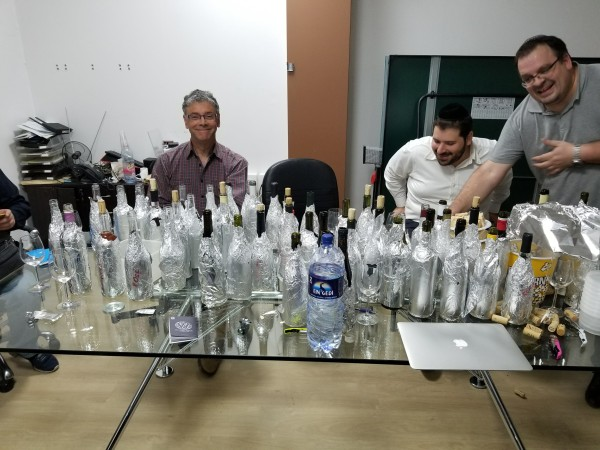 Blind Tasting in Jerusalem