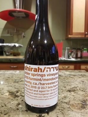 2015 Shirah Furmint, Alder Springs
