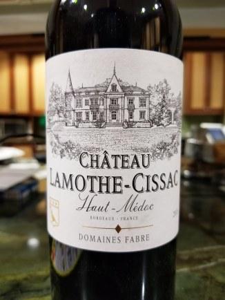 2016 Château Lamothe-Cissac, Cru Bourgeois, Haut-Médoc