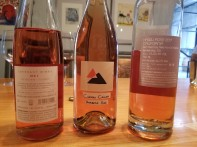 2017 Covenant Wines Red C Rose - bl, 2017 Camuna Cellars Rose, 2017 Hajdu Rose - bl