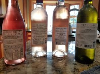 2017 Jezreel Valley Winery Rose - bl, 2017 Barons Edmund et Benjamin de Rothschild La Lauriers Rose - bl, 2016 Sainte Beatrice Instant B - bl