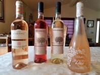 2017 Ramon Cardova Rose, 2017 Vina Encina Rosado, 2017 Roubine La Vie Rose