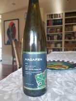 2014 Hagafen Riesling, Dry